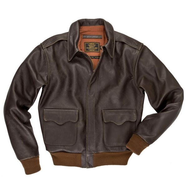 A2 Flight Cockpit Cotton Bomber Jacket
