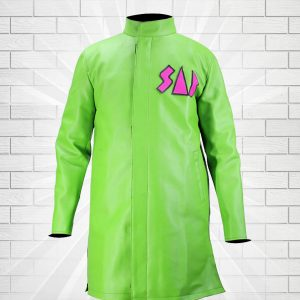 Dragon Ball Super Movie Broly Goku Sab Blue Leather Coat Jacket Blue Or Green vegeta sab jacket green
