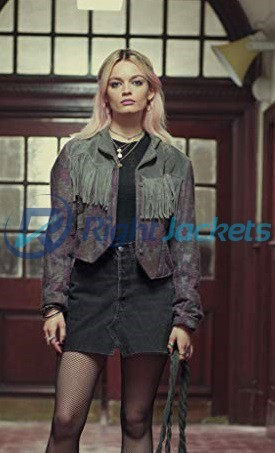 Emma Mackey Maeve Wiley Sex Education Jacket