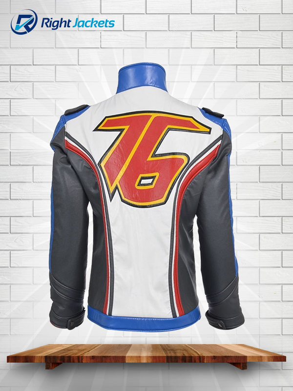 11f1303ab Soldier 76 Jacket Game Overwatch Leather Jacket