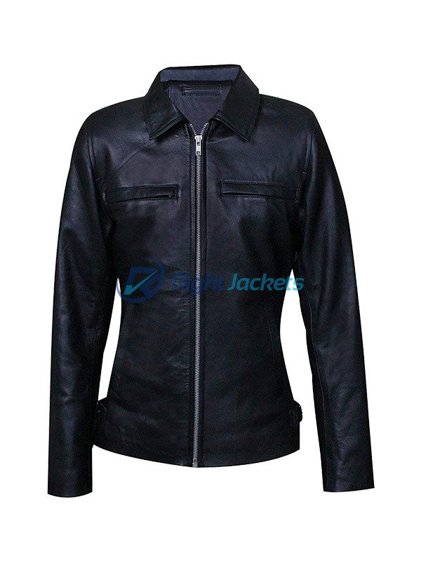 Arctic Monkeys One For The Road Conifer Black Leather Jacket