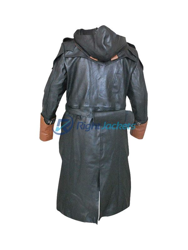 Assassin's Creed Arno Dorian Long Costume Trench Leather Coat