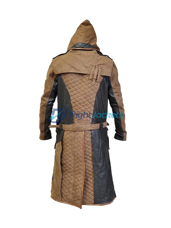 Assassin's Creed Syndicate Jacob Frye Costume Long Trench Coat