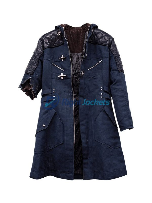 Devil May Cry 5 Nero DMC Leather Jacket