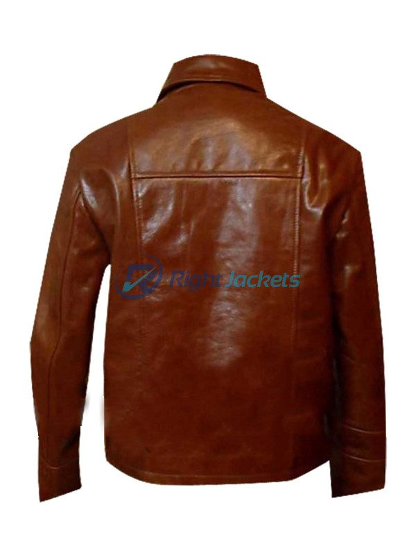Inception Arthur Leather Jacket Wore by Joseph Gordon