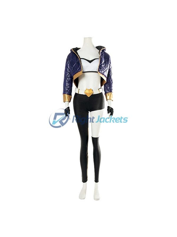 LOL League Of Legends KDA Papular Akali Cosplay Costume