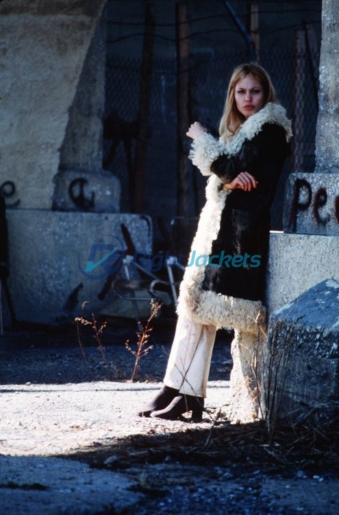 Girl Interrupted Lisa Angelina Jolie Fur Coat