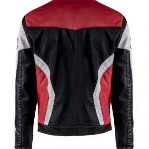 Marvel Avengers Endgame Quantum Realm Leather Jacket