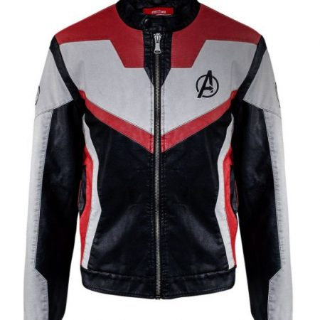 Marvel Launches the Avengers Endgame Quantum Realm Leather Jacket