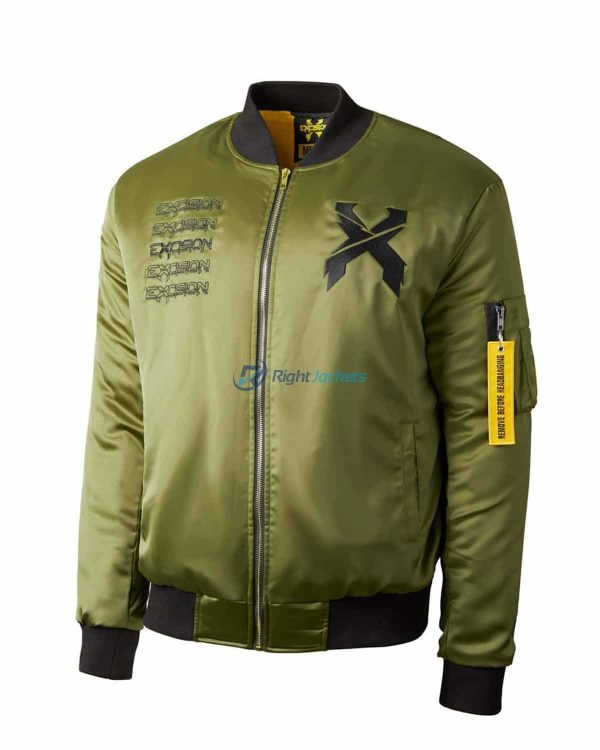 Green Excision Flight Jacket