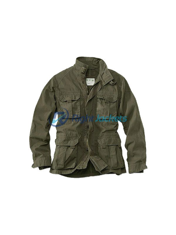 Orvis Woodside Meadow Field Mens Cotton Jacket