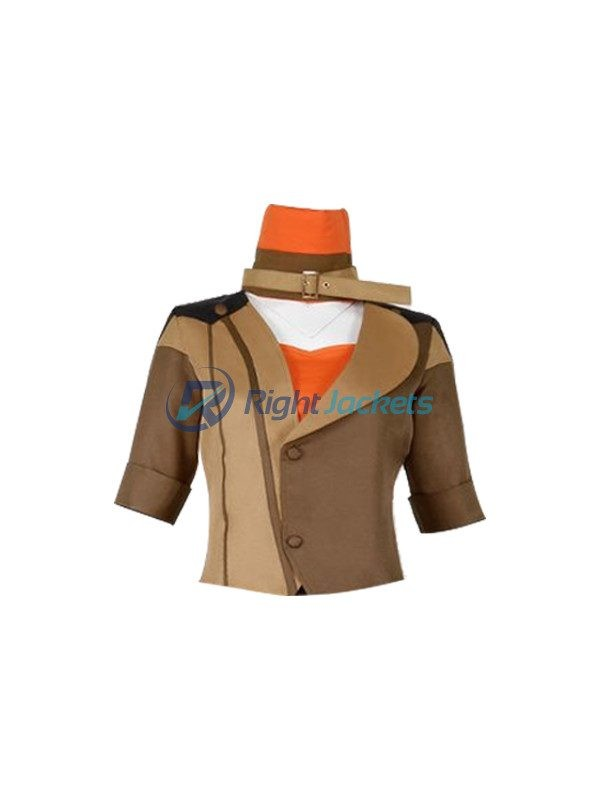 RWBY Volume 6 Yang Xiao Long Creem Cosplay Costume (Copy)