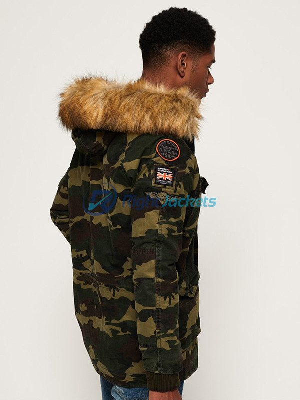 Rookie Heavy Weather Parka Mens Military Jacket