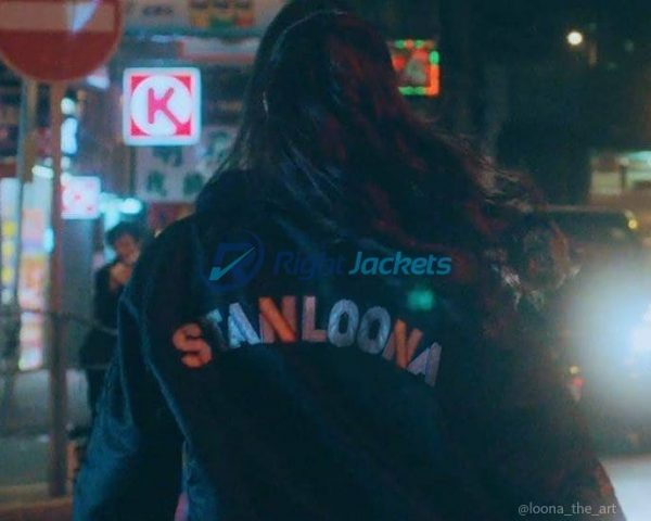 Stan Loona Black Custom Print Jacket