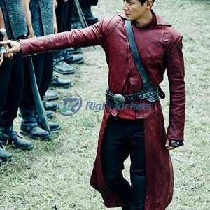 Sunny Daniel Wu in Into the Badlands Brown Leather Long Coat