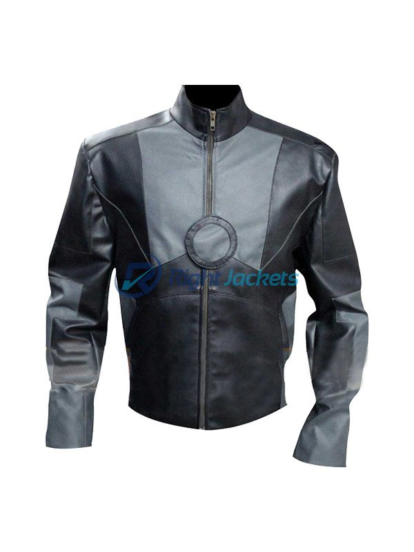 Tony Stark Avengers Age Of Ultron Iron Man Leather Costume Jacket