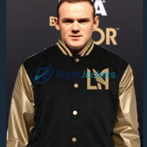 Wayne Rooney Los Angeles LA Football Club Varsity jacket