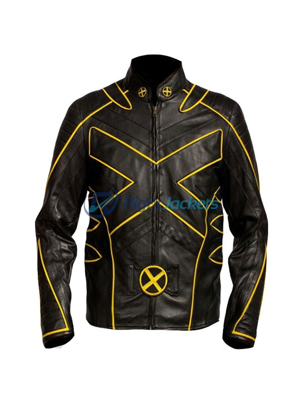 X Men Wolverine Special Stylish Bikers Leather Jacket