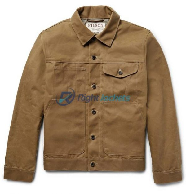 Tin Cloth Short Lined Cruiser Ideal Work Jacket