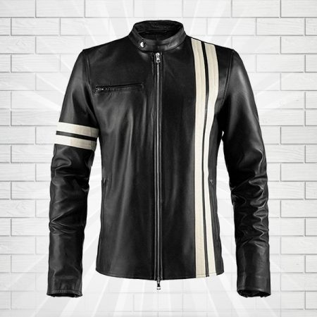 Driver San Francisco John Tanner Black Biker Slim Fit Rider Gaming Jacket