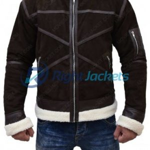 50 Cent Power Suede Leather Jacket
