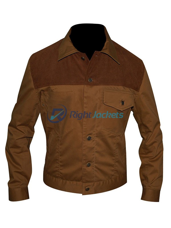 Andrew Lincoln The Walking Dead Camel Brown Jacket
