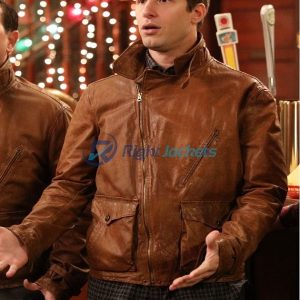 Andy Samberg Brooklyn 99 Jake Peralta Leather Jacket