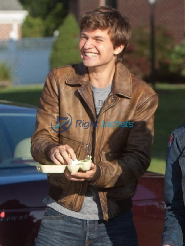 Ansel Elgort The Fault IN Our Stars Gus Brown Jacket