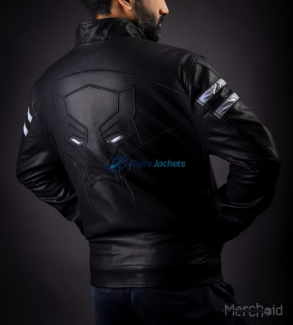 Black Panther Premium Preorder Leather Custom Jacket