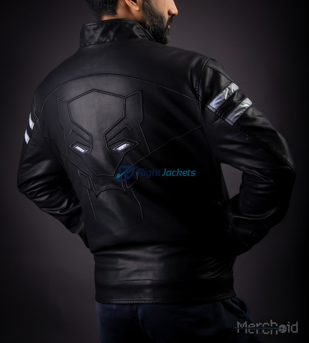 low price sale sophisticated technologies latest discount Black Panther Premium Preorder Leather Custom Jacket