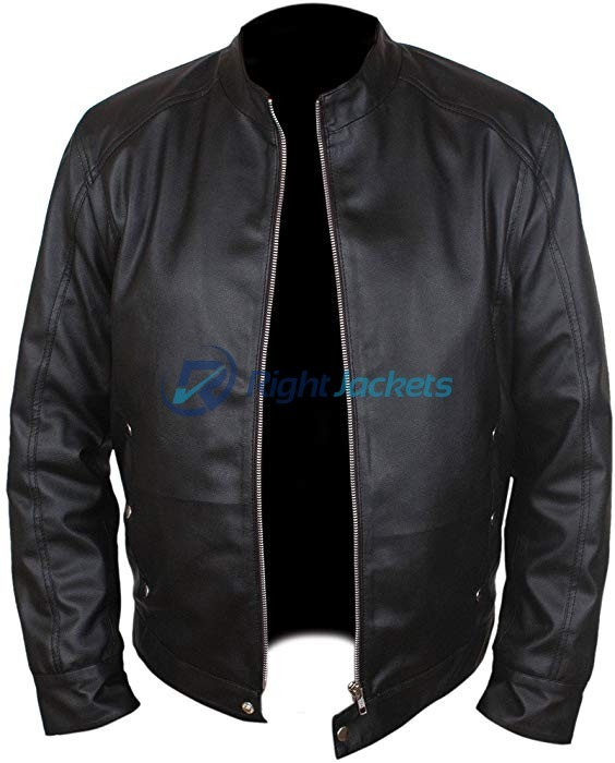Bradley Cooper Limitless Eddie Morra Black Leather Jacket