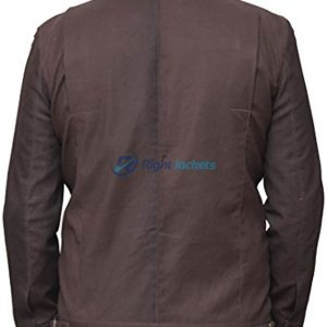 Captain Cassian Andor Star Wars Rogue One Cotton Brown Jacket