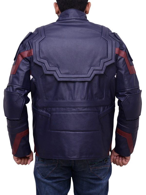 Chris Evans Avengers Age Of Ultron Leather Jacket