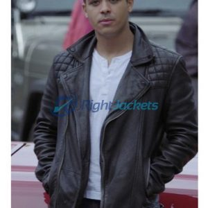 Christian Navarro Tony Padilla Black Leather Jacket