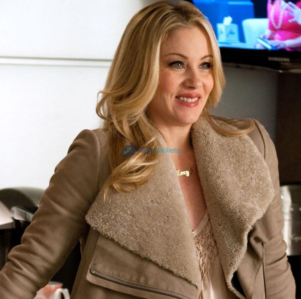 Christina Applegate Dead to Me TV in Netflix Wool Jacket