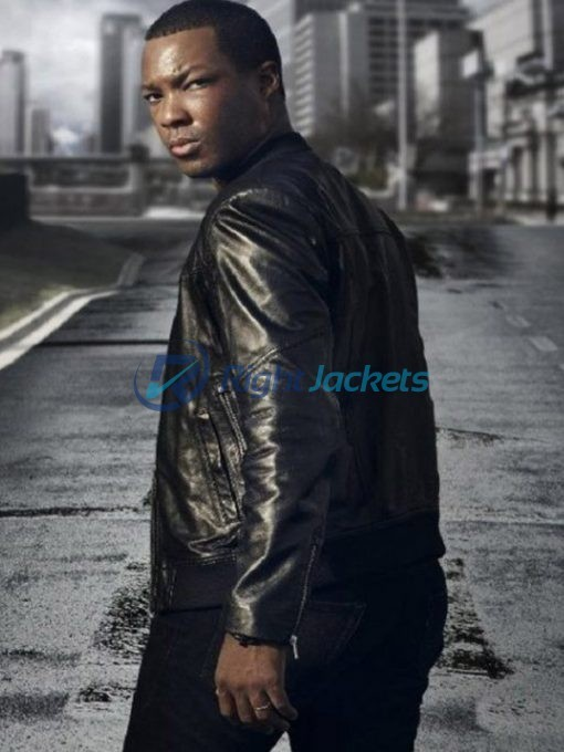 Corey Hawkins 24 Legacy Black Leather Jacket