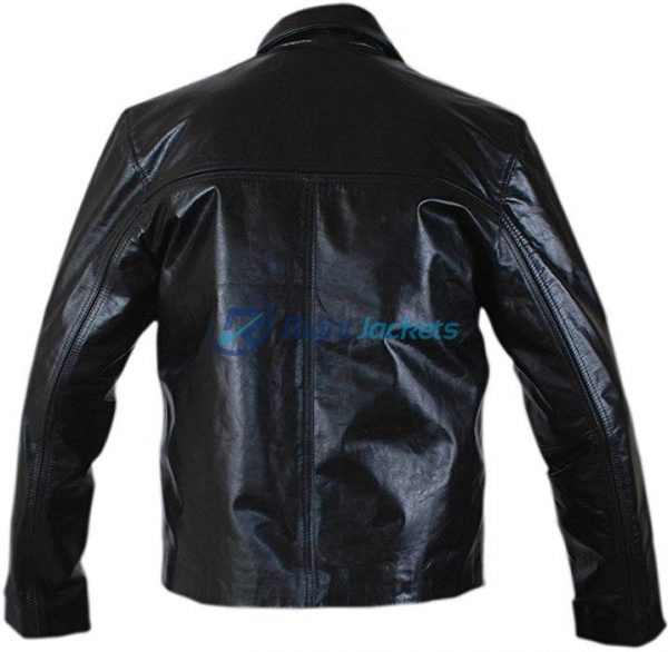 Daniel Craig Layer Cake Style Black Leather Jacket