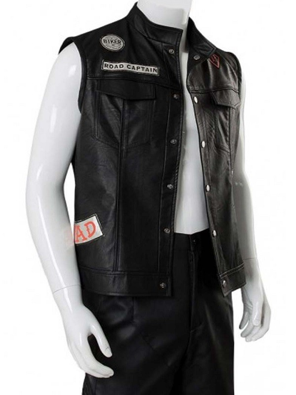 Deacon St. John Days Gone Cosplay Leather Vest