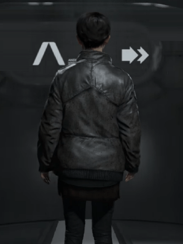 Detroit Become Human Kara Cosplay Leahter Jacket