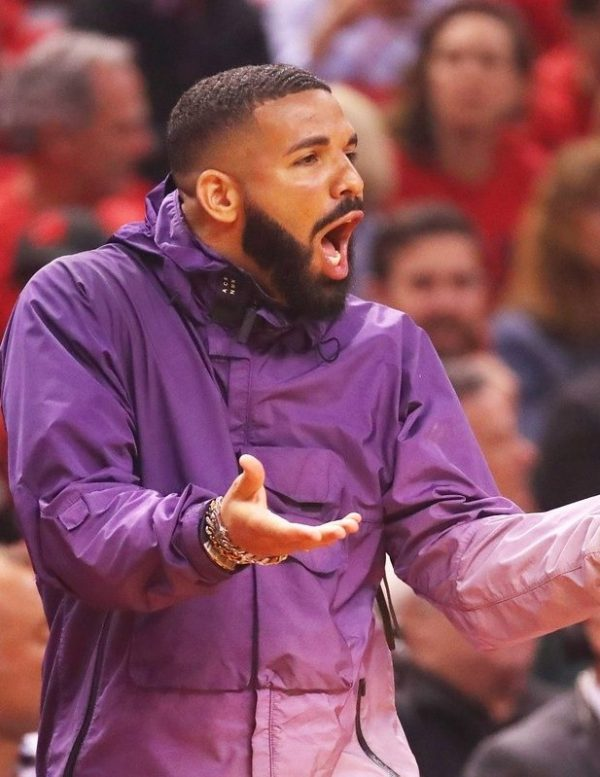 Drake NBA Playoffs Purple
