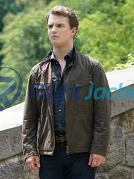 Freddie Stroma Time After Time H.G. Wells Leather Jacket