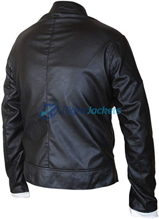 Ghost Rider Gabriel Luna Black Biker Leather Jacket