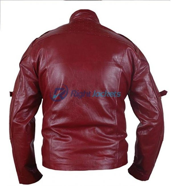 Guardians Of Galaxy Star Lord Brown Faux Leather Jacket