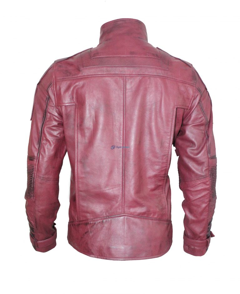 Guardians Of The Galaxy 2 Star Lord Purple Leather Jacket