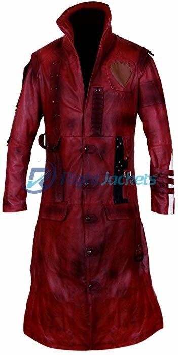 Guardians Of The Galaxy Vol 2 Yondu Michael Rooker Long Leather Coat