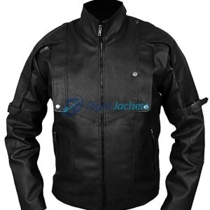 Guardians of the Galaxy Star Lord Black Leather Jacket