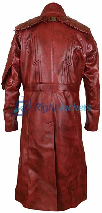 Guardians of the Galaxy Vol 2 Chris Pratt Star Lord Brown Long Coat