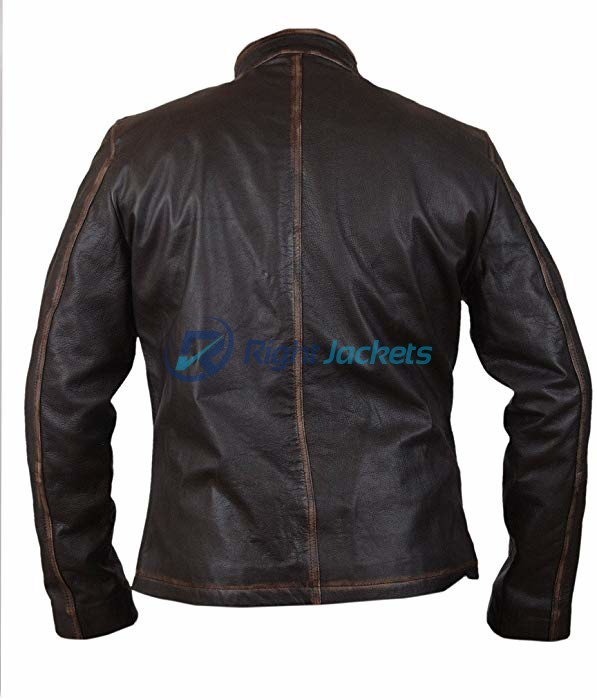 Han Solo Star Wars The Force Awakens Black Faux Leather Jacket