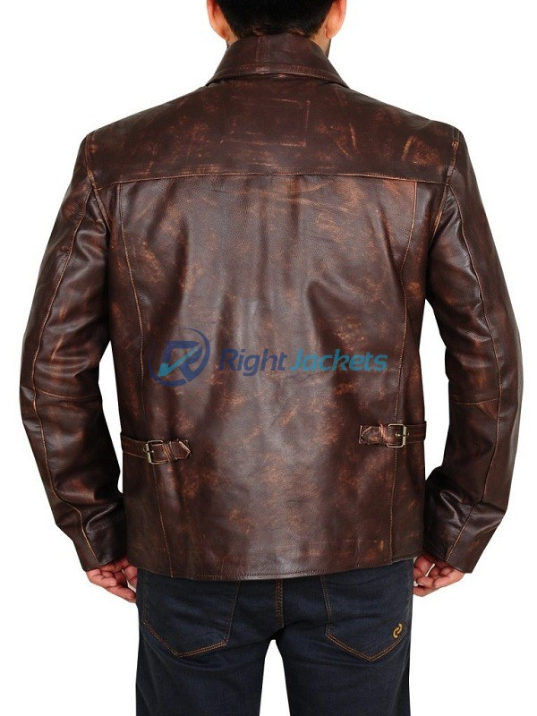 Harrison Ford Indiana Jones And The Last Crusade Brown Jacket