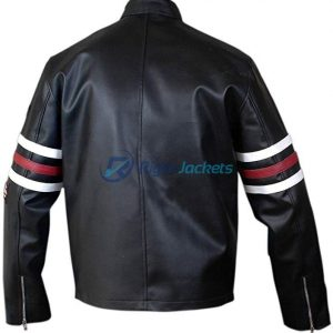 House MD Dr. Gregory House Biker Leather Jacket